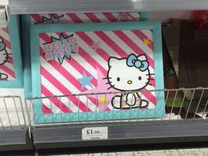 Kids Hello Kitty Laptray £1.99 @ Home Bargains South west