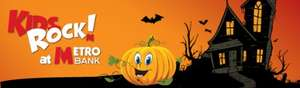 Free pumpkin decorating at Metro Bank on Sunday 26/10 from 12-4 nationwide