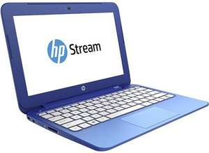 HP Stream 11 Laptop, Fanless, Intel® Celeron® N2840, 2GB RAM, 32GB eMMC storage, Windows 8.1 64-bit, £171.84 @ HP