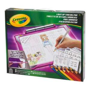 Crayola Light Up Tracing Pad Perfect Stocking Filler £9.99 @ smyths toys