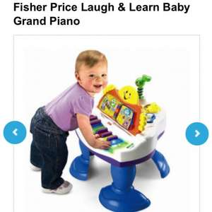 Fisher price laugh and learn grand piano £29.99 @ toysrus