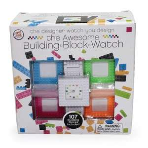 Building Block Watch 15% off with code - £16.99 @ The Happy Puzzle Company