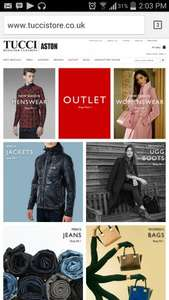 designer brands at discount prices tucci outlet