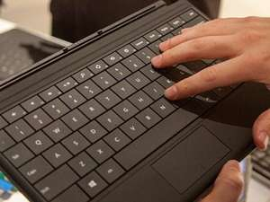 Microsoft Surface Type Cover Italian QWERTY layout keyboard £15.99 sold by  trusted_goods Ebay
