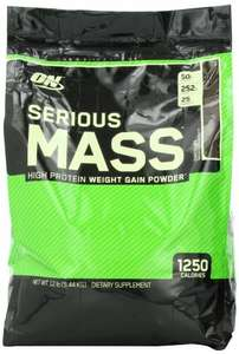 Optimum Nutrition Serious Mass 5.4KG £31.99 @ Amazon