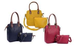 Tote Bag Twin Set from £15.95 Delivery £1.99 @  Snow Paw / Groupon