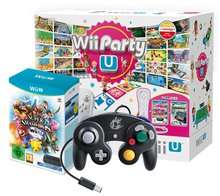 Basic Wii U (8GB) w/ Wii Party U, Nintendo Land, Super Smash Bros. & GameCube Adapter and GameCube Controller - £219.85 @ ShopTo