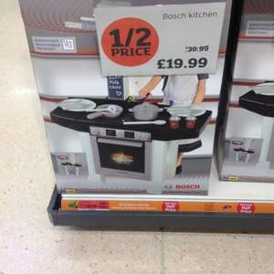 Bosch Childrens Kitchen £19.99 @ Sainsburys instore