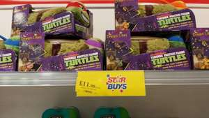 Pillow pets Teenage mutant ninja turtles Dream lites £11.99 in Home Bargains