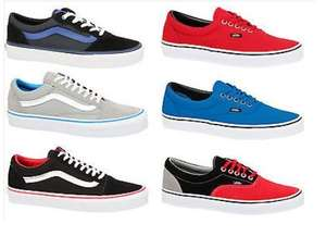 Vans £24.99 delivered various sizes (3.5-11) & styles @ ebay/footcandyuk