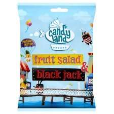 Fruit Salad and Black Jack Chews 180g - 50p at Tesco