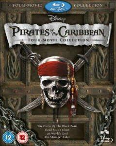 Pirates Of the Caribbean 1-4 Blu Ray + Bonus Disc £13.49 (10CCZ) @ Zavvi