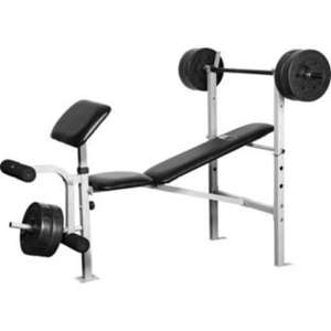 Pro Fitness Exercise Bench with 30kg Weights £49.99 @ Argos