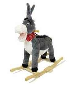 ROCKING DONKEY WITH SOUND £24.99  @ Big Red Warehouse (free delivery over £40) (£28.98 Delivered)