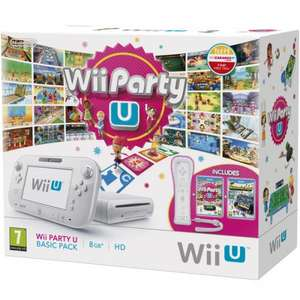Wii U 8gb Basic Console with Wii Party U + Nintendo Land +Wii Remote £149.99 with code @ Rakuten / shopto