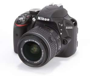 New Nikon DSLR Camera D3300 with 18-55mm VR II Lens kit £349 with free delivery @ DigitalRev Cameras