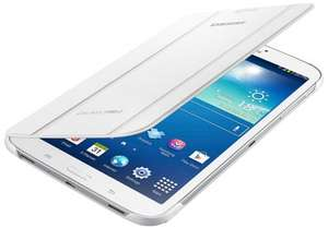 Samsung Notebook Cover for Galaxy Tab 3 8 inch - White £7.50 + P&P (free on £10 orders / Prime) @ Amazon