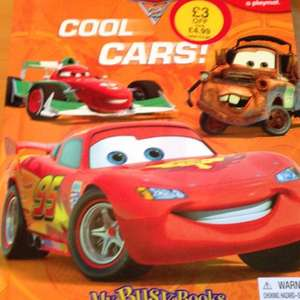 Disney cars busy book £4.99 @ WH Smith