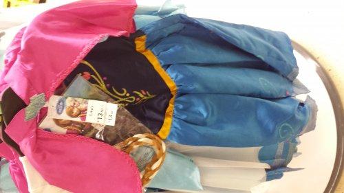 TESCO Frozen Anna & Elsa Costumes £13.50 instore