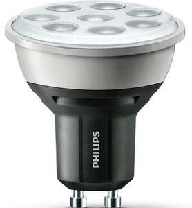 Philips Master LED dimmable GU10 5.3w 3000k 355lm, Lamps on Line for £7.08