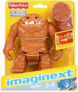 £9.99 each or 2 for £15 imaginext batman figures including very rare clayface and others! instore & online @ Argos