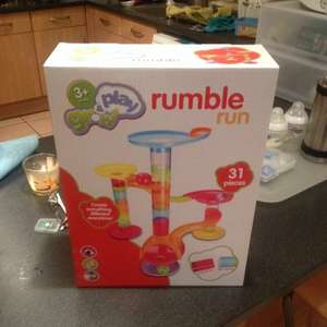 Sainsburys play & grow rumble run £4.99