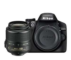 Nikon D3200 Digital SLR with 18-55mm VR II Compact Lens Kit £299 @ Amazon (£279 after cash back)