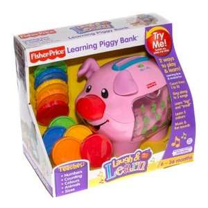 Fisher Price Learning Piggy Bank @ B&M - £9.99