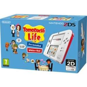 Nintendo 2DS White/Red and Tomodachi Game.+ free Pokémon White DS Game £99.99 @ Argos + Free £5.00 gift Card.