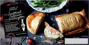 Finest Salmon Wellington 640g - £3.30 WAS £5.00 -Tesco