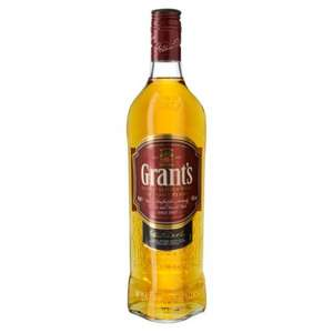 Grants Whisky 70cl at Morrisons £17.49  - Match and More points effectively £7