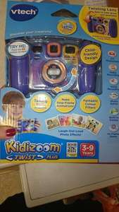 VTECH Kidizoom Twist Plus digital camera - £15 in store at Sainbury - pink and blue