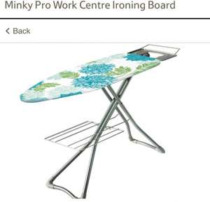 Minky pro work ironing board only £32 save £17 @ Tesco Direct