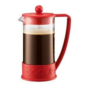Bodum red 'Brazil' eight cup coffee maker Was £30.00 Then £15.00 Now £8.10 (Using Code NT73) Online @ Debenhams Free Click And Collect