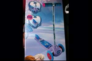 DISNEY FROZEN SCOOTER £13.99 HOME BARGAINS