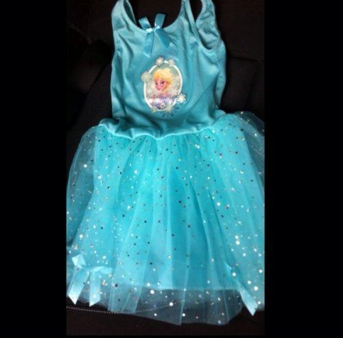 ELSA DISNEY FROZEN DRESS ONLY £4.99 at B&M