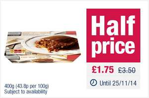 The Co-operative Truly Irresistible Sticky Toffee Pudding - 400g - Half price, now £1.75 @ the Co-op