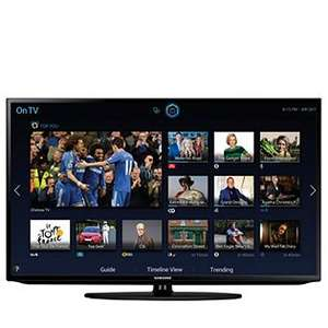 "Samsung H5303 Full HD Smart LED TV with WiFi 40"" £239.87 Delivered @ QVC"