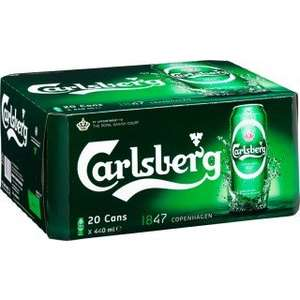 20 Cans Of Carlsberg For £10 Each In Morrisons