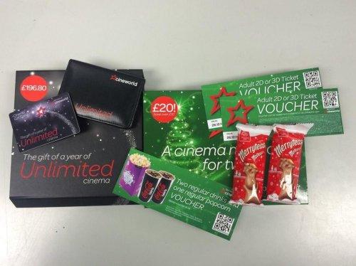 Cineworld Christmas Gift Box £24.50