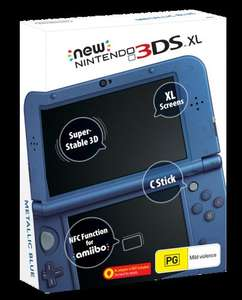 New Nintendo 3DS/3DS XL (AUS PAL Pre-order) - £136/£161 (XL) + £22 FedEx delivery @ PlayAsia