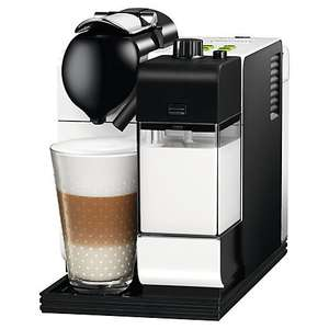 Nespresso EN520 Lattissima Coffee Machine by De'Longhi, White - John Lewis £169.95 (plus a £75 Pod Voucher on top) free delivery.