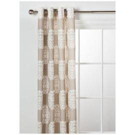Tesco Direct- Nouveau Lined Eyelet Curtain W163xL183cm