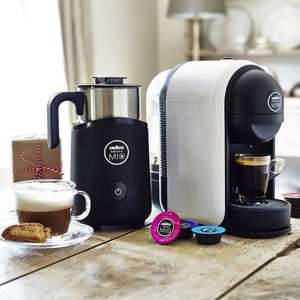 Lavazza Amodo Mio Minu Coffee Machine plus free Milk Frother (worth £59.99 RRP) - Lakeland (in store and online) Free Delivery for online purchases. - £69.99