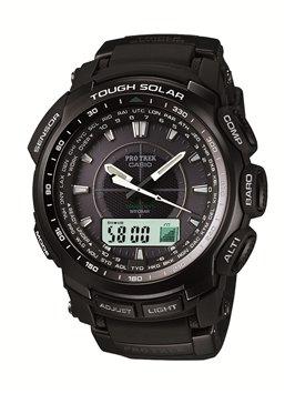 Casio Mens Pro Trek Multifunctional Watch PRW-5100-1ER - £203.41 using code @ Watches2u