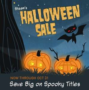 Steam Halloween Sale - 22 Games Under 50p