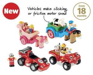 Various WOW toys only £4.99 each at Aldi