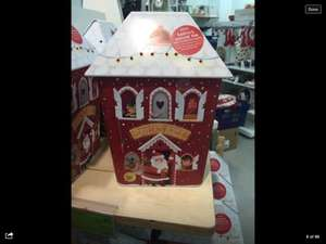 M&S Christmas Biscuit Tin with LED Lights £5.00 instore at Marks & Spencers