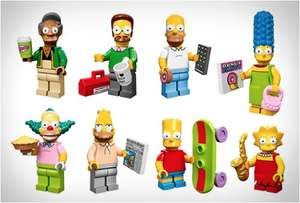 Lego Simpsons minifigures - 25p in Tesco! Other stuff also reduced... details in post.