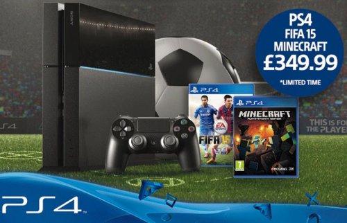 PS4 Bundle Fifa 15 + Minecraft £349 @ Sainsburys